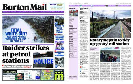Burton Mail – January 22, 2018