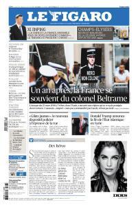 Le Figaro du Samedi 23 et Dimanche 24 Mars 2019