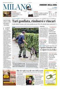 Corriere della Sera Milano - 22 Novembre 2017