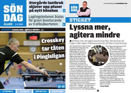 Ålandstidningen – 11 november 2018