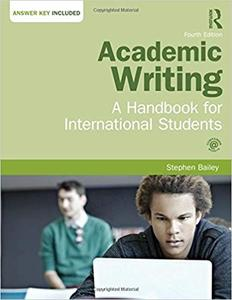 Academic Writing: A Handbook for International Students Ed 4