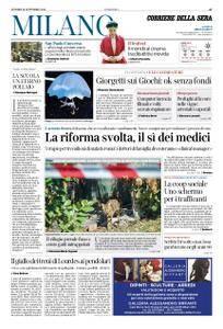 Corriere della Sera Milano – 28 settembre 2018