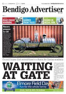 Bendigo Advertiser - September 28, 2018