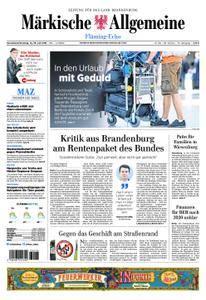Märkische Allgemeine Fläming Echo - 14. Juli 2018