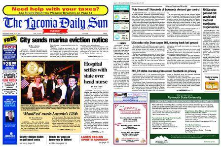 The Laconia Daily Sun – March 27, 2018