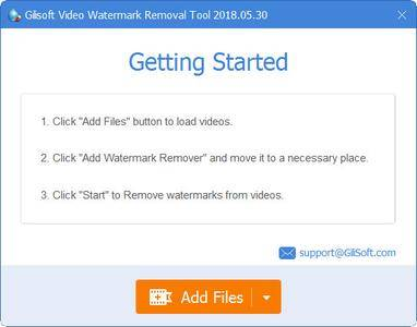 GiliSoft Video Watermark Removal Tool 2018.05.30