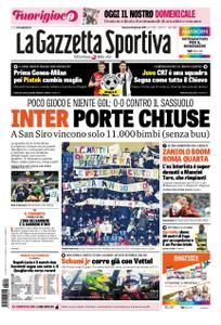 La Gazzetta dello Sport Roma – 20 gennaio 2019