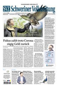 Schweriner Volkszeitung Hagenower Kreisblatt - 16. Mai 2020