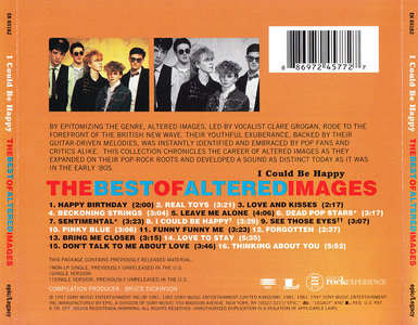 Altered Images - I Could Be Happy: The Best of Altered Images (1997)
