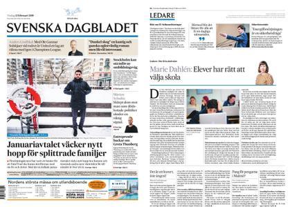 Svenska Dagbladet – 12 februari 2019