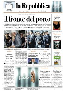 la Repubblica - 15 Agosto 2019