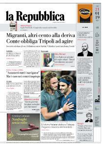 la Repubblica - 21 Gennaio 2019