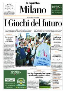 la Repubblica Milano – 25 giugno 2019