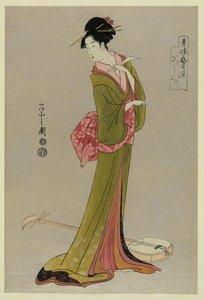 Ukiyo-e painters: The Art of Eishi