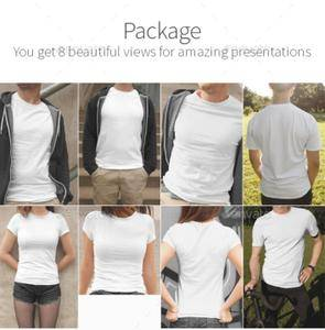 GraphicRiver - T-Shirt Mockups Street Edition