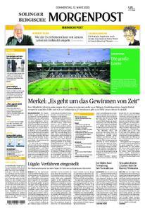 Solinger Morgenpost – 12. März 2020