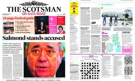 The Scotsman – August 25, 2018