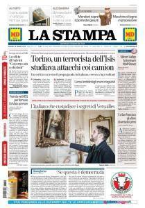 La Stampa Torino Provincia e Canavese - 29 Marzo 2018