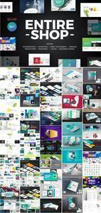 CreativeMarket - ENTIRE SHOP - Presentation & Print