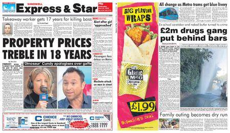 Express and Star Sandwell Edition – June 27, 2018