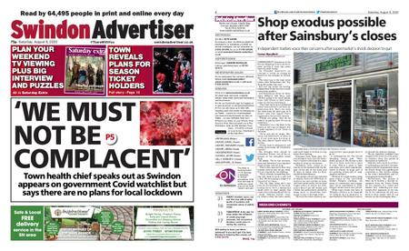 Swindon Advertiser – August 08, 2020