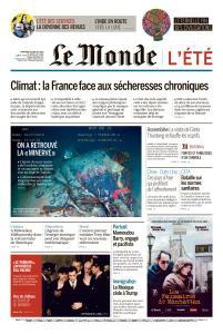 Le Monde du Mercredi 24 Juillet 2019