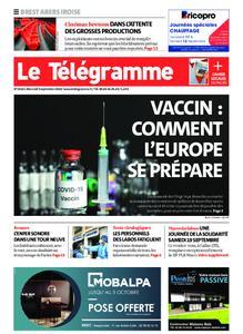 Le Télégramme Brest Abers Iroise – 09 septembre 2020