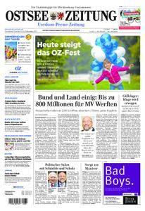 Ostsee Zeitung Wolgast - 09. September 2017