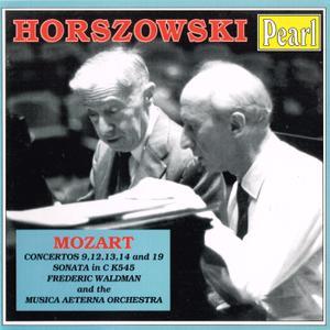 Mieczyslaw Horszowski - Mozart: Piano Concertos, Vol. 1 (1994)