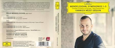 Yannick Nézet-Séguin - Mendelssohn: Symphonies Nos. 1-5 (Live) (2017)
