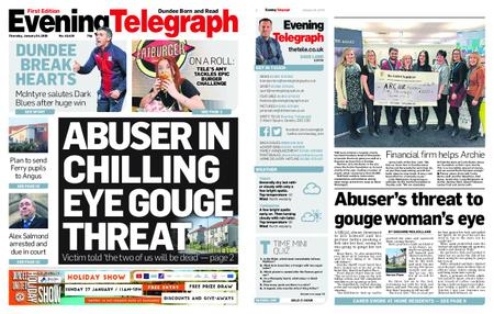 Evening Telegraph First Edition – January 24, 2019