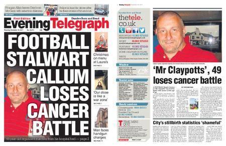 Evening Telegraph First Edition – November 30, 2017