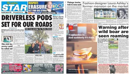 Shropshire Star Shrewsbury Edition – April 20, 2019