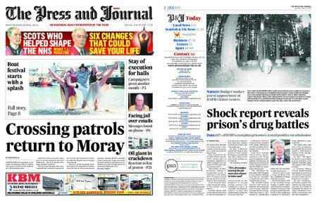 The Press and Journal Moray – June 30, 2018