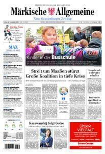 Neue Oranienburger Zeitung - 14. September 2018