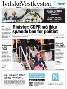 JydskeVestkysten Varde – 21. maj 2020