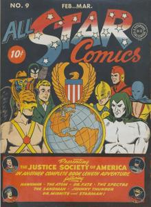 All-Star Comics 9 (DC) (Feb-Mar 1942)