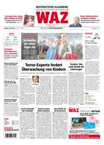 WAZ Westdeutsche Allgemeine Zeitung Oberhausen-Sterkrade - 24. April 2018