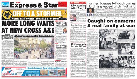 Express and Star City Edition – October 08, 2018