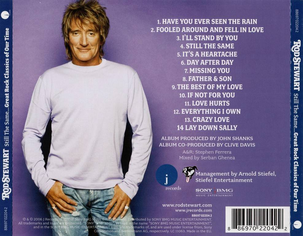 Rod Stewart - Still The Same... Great Rock Classics Of Our Time (2006)