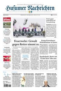 Husumer Nachrichten - 22. Oktober 2019