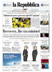 la Repubblica - 21 Novembre 2020