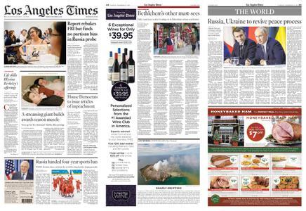 Los Angeles Times – December 10, 2019