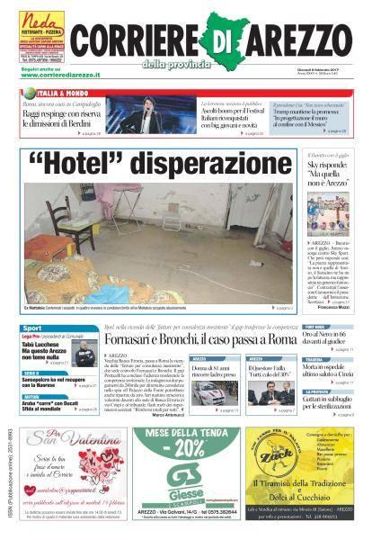 Corriere di Arezzo - 9 Febbraio 2017