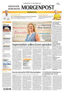 Solinger Morgenpost – 12. September 2019