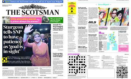 The Scotsman – October 10, 2018