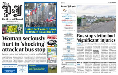 The Press and Journal Moray – February 01, 2020