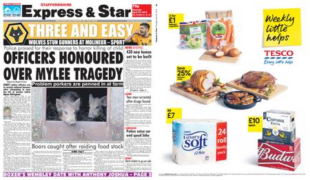 Express and Star Staffordshire Edition – April 25, 2019