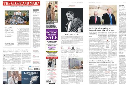 The Globe and Mail – December 23, 2019