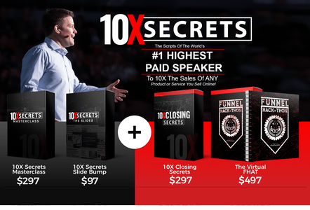 Russell Brunson – 10x Secrets